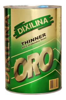 Thinner Dixilina Sello De Oro 4 Litros - Rex