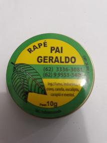 Rapé - Pai Geraldo- 24 Unidades De 10 Gramas Cada