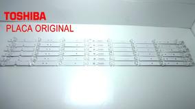Kit Barra De Led Toshiba 65p65us