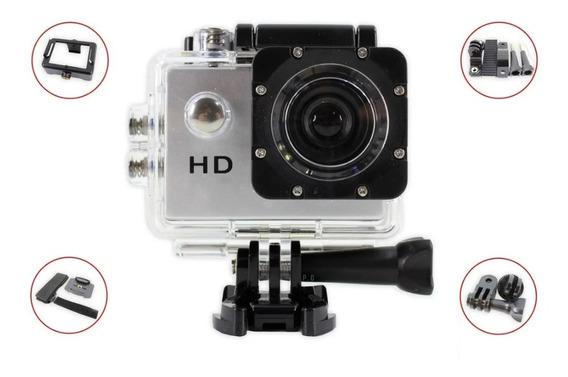 Mini Câmera Filmadora Sports Hd Dv 1080p 13 Suportes 30m.p.o