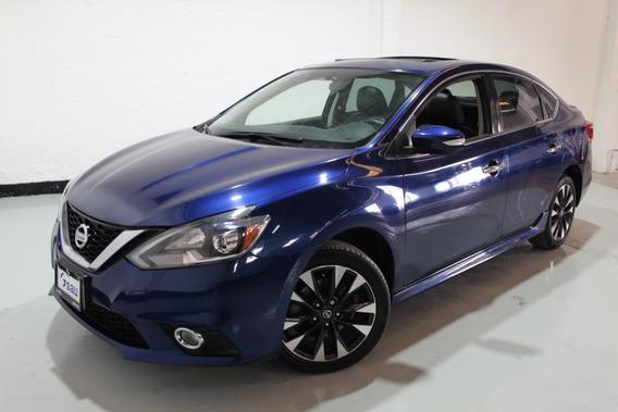 Nissan Sentra Sr Turbo Mt Azul 2017