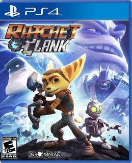 Ratchet And Clank Ps4 Juego Original Fisico Sellado Español Nuevo Sin Uso Playstation 4
