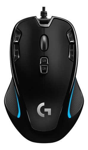 Imagen 1 de 2 de Mouse de juego Logitech  G Series G300S negro