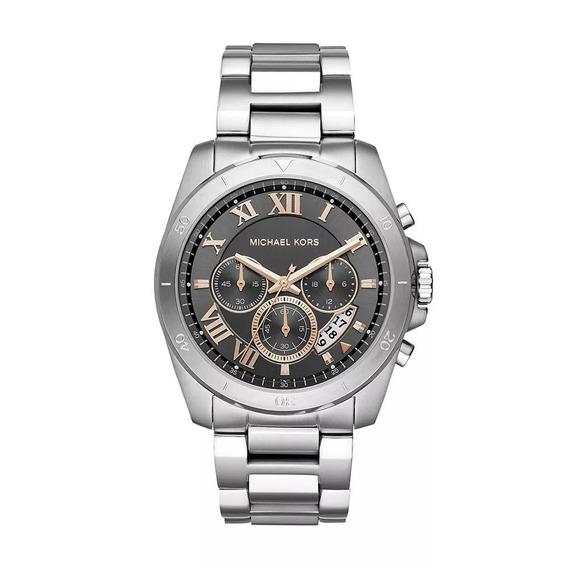 Relógio Masculino Michael Kors Mk8609 Prata 44mm Aço Inox