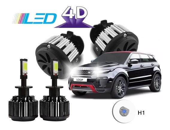 Kit Led 4d 12000 Lumens Carro 12v 24v Com Cooler 6000k