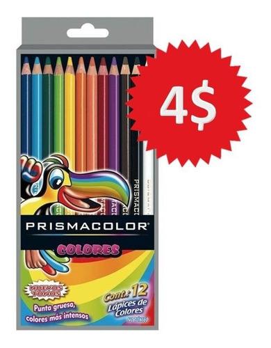 Creyones Prismacolor 12 Colores