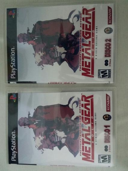 Ps1 Metal Gear Solid Disco 1 E 2 Legendado Para Playstation