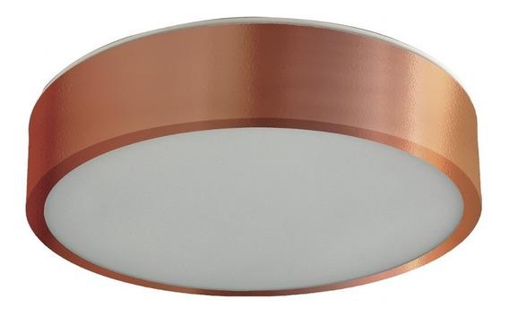 Plafon Sobrepor Redondo Para 1 Lâmpada 20cm Pantoja & Cbwt