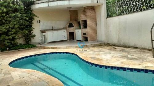 Casa Com 4 Dormitórios À Venda, 380 M² Por R$ 1.800.000,00 - Alphaville 09 - Santana De Parnaíba/sp - Ca1232