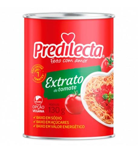 Imagem 1 de 1 de Extrato De Tomate Lata 130g Predilecta