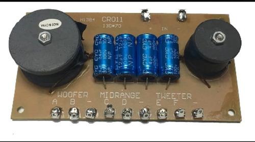 400 W, 700-3500 Hz Red de separaci/ón de Frecuencias de Tres Salidas Monacor