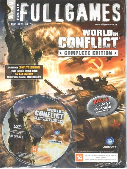 World In Conflict Pc Original Midia Física Fullgames 95