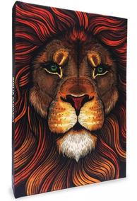 Biblia Lettering Leão Colorido - Flecha - Jesus Copy