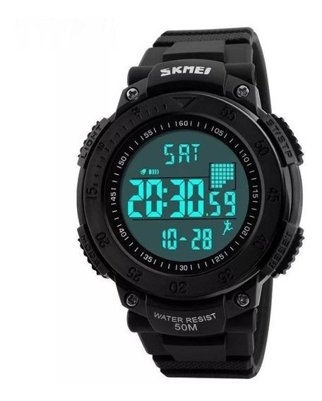Relógio Masculino Skmei Digital Pedômetro Prova D