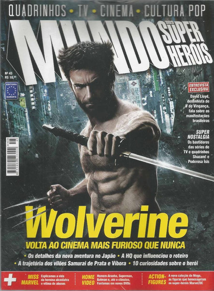 Mundo Dos Super-herois 45 Europa - Bonellihq Cx99 H19