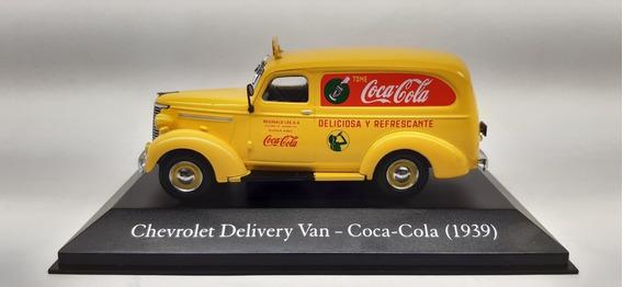 Miniatura Chevrolet Delivery 1939 Coca-cola 143 (argentina)