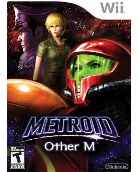 Metroid: Other M Wii Mídia Física Lacrado