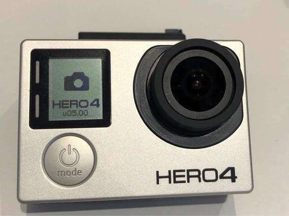 Gopro Hero 4 Black - Baterias E Diversos Acessórios Incluso