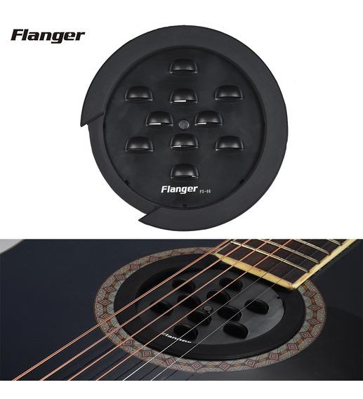 Tapa De Agujero De Sonido De Guitarra Flanger Fs-08