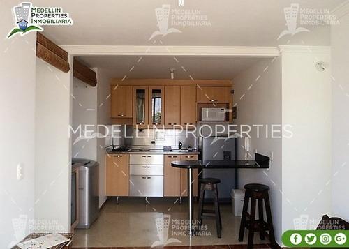 Apartamentos Amoblados Medellin Mensual  Cód: 4287