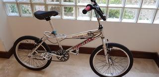 Bicicleta Bmx Cromada, Rod 20, = A Nueva, Top Mega Tatoo.
