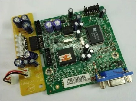 Placa Logica Monitor Aoc Lm522 715g1237-3-3 + Audio