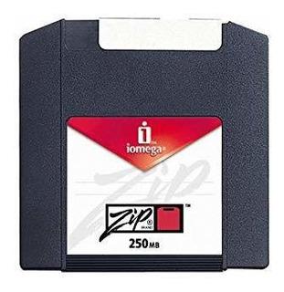 Iomega 11097 Zip 250 Mb Discos Con Formato Pc (paquete De 8)