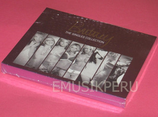 Britney Spears Japan Singles Collection Japan Cd+dvd -- Emk