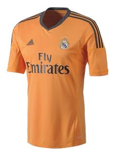 Playera Jersey adidas Real Madrid Temporada Pasada Naranja