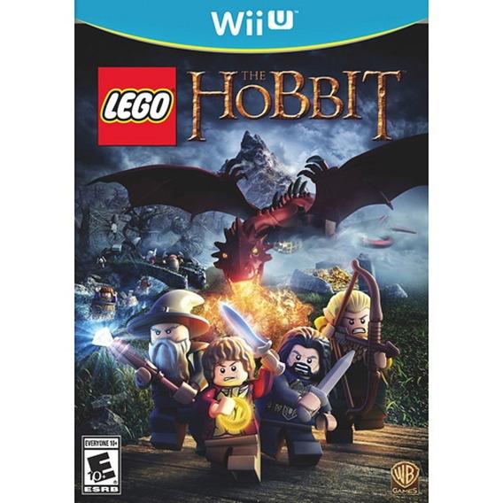 Wiiu -lego Hobbit - Midia Fisica - Novo