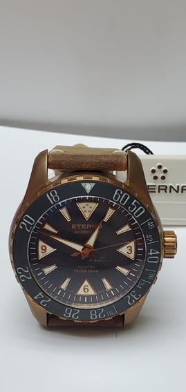 Relógio Eterna Kontiki Bronze Edição Limitada