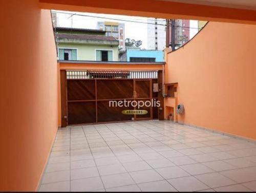 Imagem 1 de 30 de Sobrado Com 3 Dormitórios À Venda, 193 M² Por R$ 880.000,00 - Cerâmica - São Caetano Do Sul/sp - So1554
