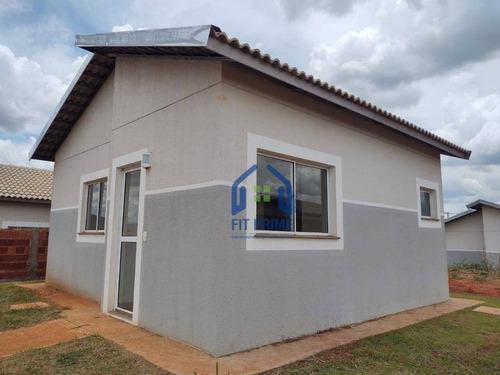 Casa Com 2 Dormitórios À Venda, 45 M² Por R$ 210.000,00 - Jardim Das Palmeiras - Bady Bassitt/sp - Ca2514