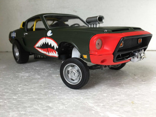 Ford Shelby Gt 500 1968 1:18 Gasser