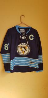 Jersey De Hockey Pinguinos Talla L De Dama Nhl