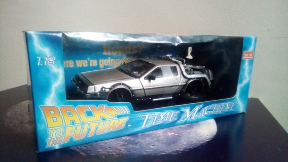 Back To The Future 2 Time Machine Delorean 1:18 Sunstar