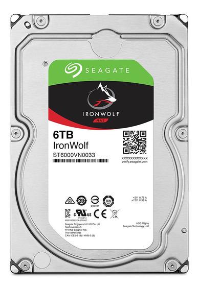 Hd Seagate Ironwolf 3.5 Sata 6tb