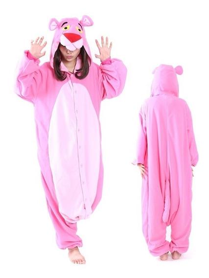 Pijama Mameluco Disfraz Kigurumi Pantera Rosa Envío Express