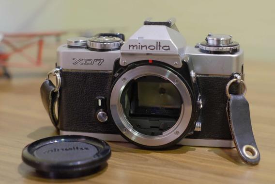 Câmera Analógica Minolta Xd7 Aka Xd11, Funcionando Tudo