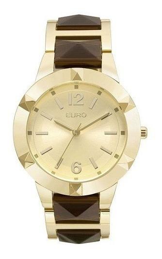 Relógio Euro Feminino Eu2035ylz/4d Fashion Dourado