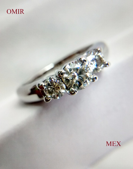 Anillo Compromiso Diamantes Oro 14k Video