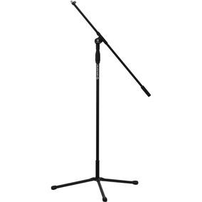 Pedestal Suporte Para Microfone Preto Hayonik Pm-100