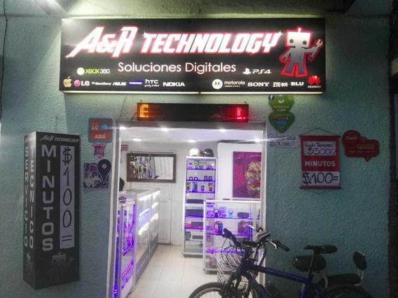 Negocio De Tecnología Y Accesorios Para Celulares.