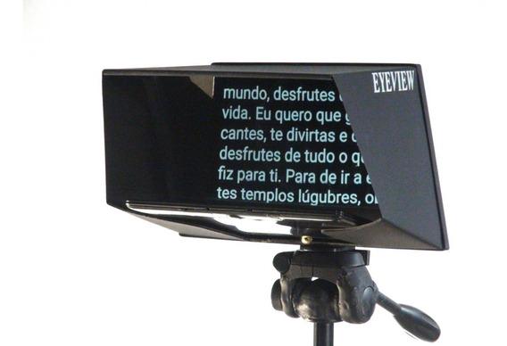 Teleprompter Eyeview Básico Com Suporte Para Smartphone
