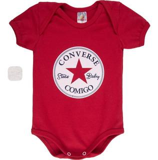Roupa Bebê Menino Body Curto Verão Gola Americana Isensee