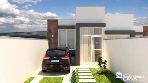 Casa Com 2 Dormitórios À Venda, 78 M² Por R$ 299.000,00 - Jardim Bandeirantes - Poços De Caldas/mg - Ca1393