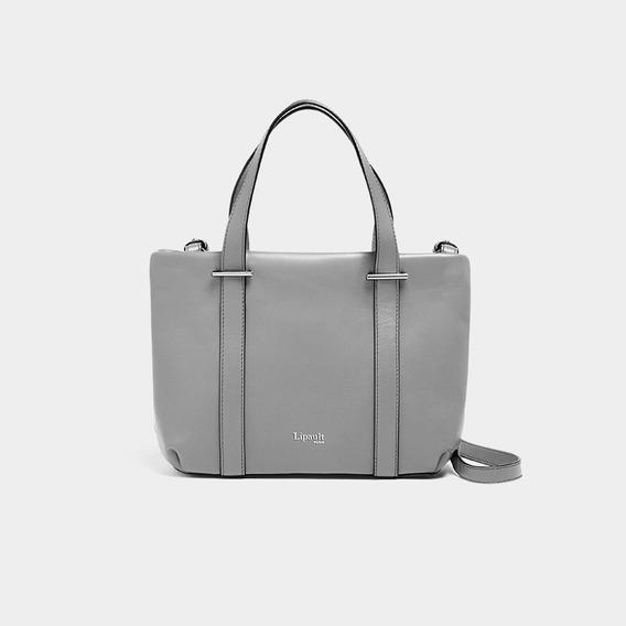 Bolsa By The Seine Nano Tote Bag Lipault Magnetic Grey