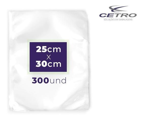 Embalagem / Sacos A Vácuo 25x30 - 300 Und