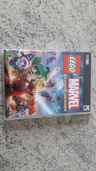 Jogo Original Para Computador Pc Lego Marvel Super Heroes