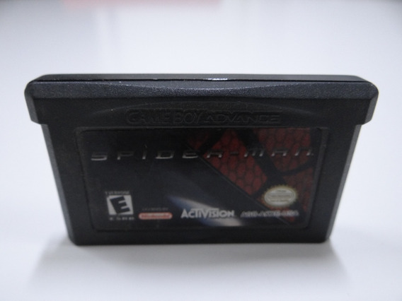 Jogo - Fita - Game Boy Advance - Spiderman